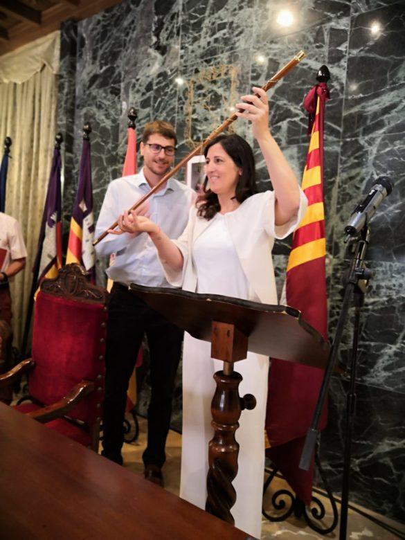 Francisca Porquer Manresa, primera batlessa de Campos.