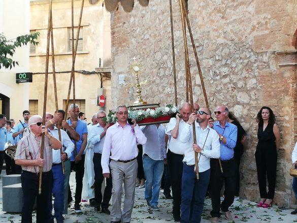 Campos celebra la tradicional festa del Corpus