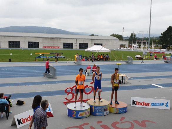 L'atleta campaner Miquel Àngel Esteller Mas, medalla de plata a Gijón
