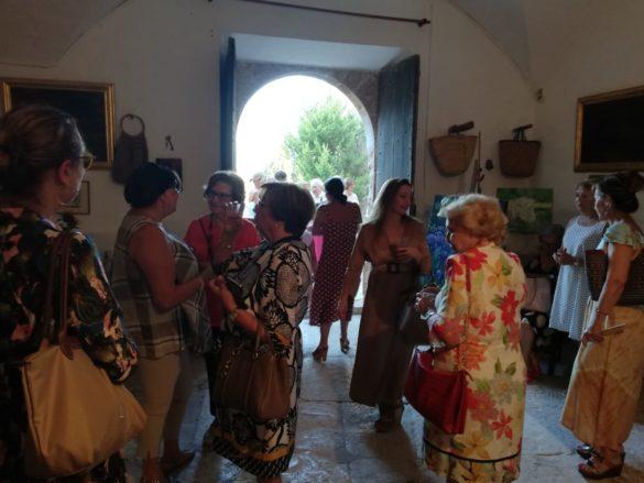 La música i la pintura inicien les festes de Sa Ràpita