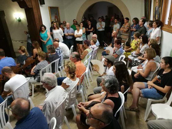 Un minut de silenci per al regidor Jaume Obrador Ballester