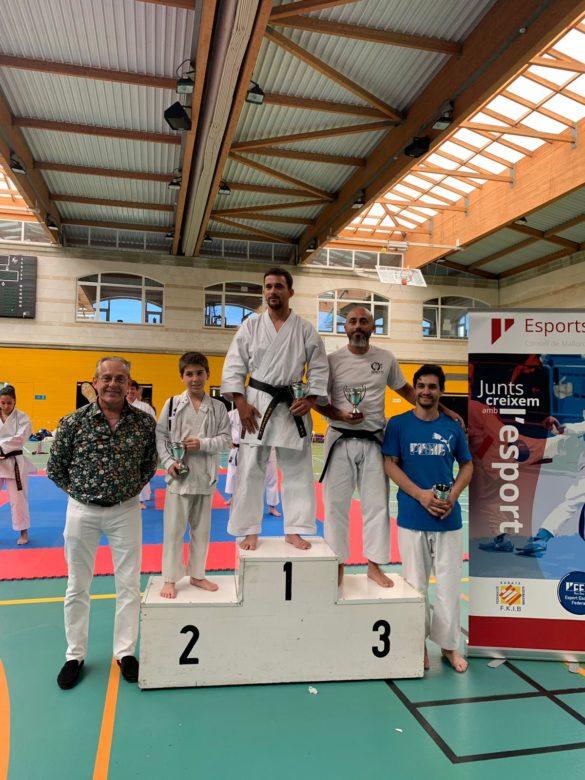 Bons resultats per al gimnàs campaner Karate Club del Pozo