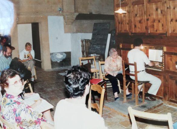 Montserrat Torrent tornarà a actuar a l'orgue del Convent de Campos -inclou entrevista i imatges d'arxiu-