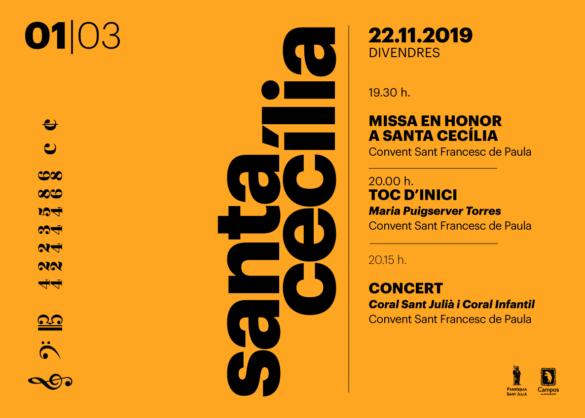 Maria Puigserver donarà el toc d'inici a la festa de Santa Cecília 2019
