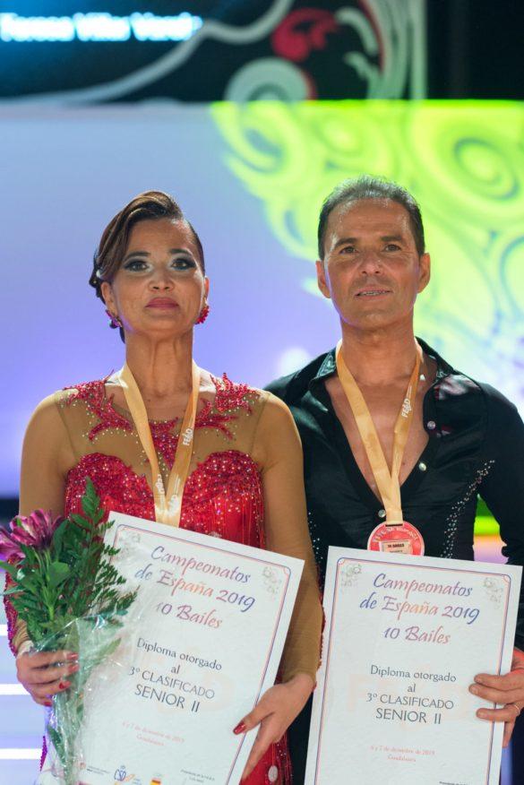 Els ballarins Toni Barceló i Marga Grimalt, un 2019 d'or, plata i bronze!