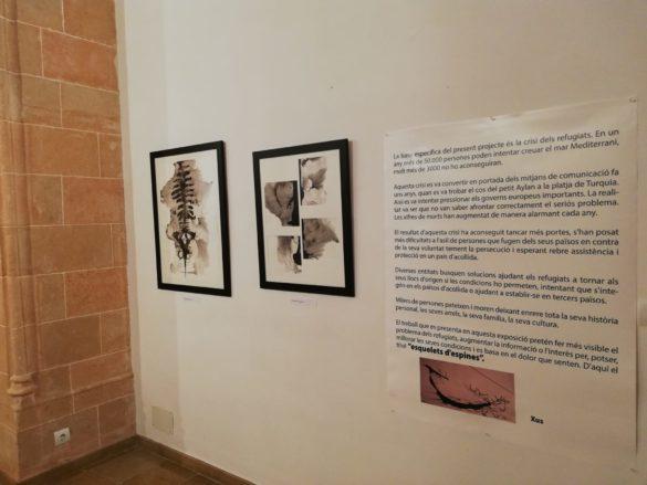 """L'auditòrium acull l'exposició """"Esquelets d'espines"""" de Xus"""