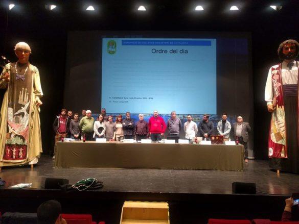 Campos presidirà l'Agrupació de Colles Geganteres