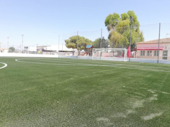 El nou camp d'entrenament de futbol 7 ja és una realitat